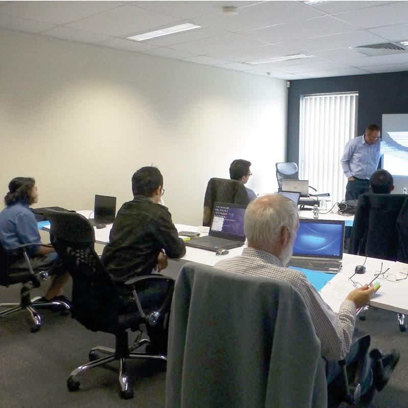 Arena simulation training Newcastle workshop attandees